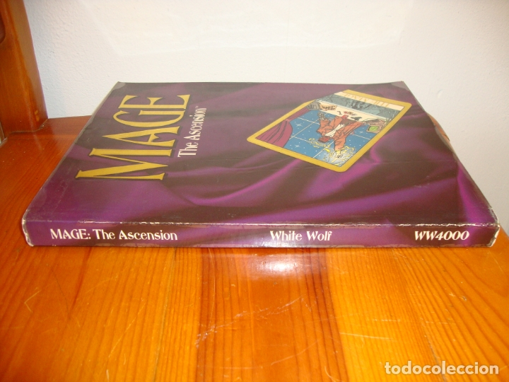 Juegos Antiguos: MAGE. THE ASCENSION. A STORYTELLING GAME OF MODERN MAGICK - STEWART WIECK - WHITE WOLF - Foto 2 - 183760951