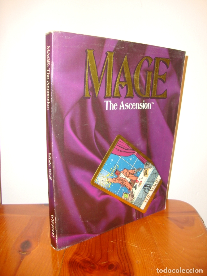 Juegos Antiguos: MAGE. THE ASCENSION. A STORYTELLING GAME OF MODERN MAGICK - STEWART WIECK - WHITE WOLF - Foto 1 - 183760951