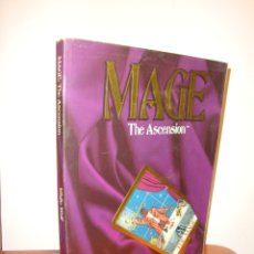 Juegos Antiguos: MAGE. THE ASCENSION. A STORYTELLING GAME OF MODERN MAGICK - STEWART WIECK - WHITE WOLF. Lote 183760951