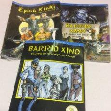 Juegos Antiguos: ROL LOTE COMPLETO BARRIO XINO , EPICA KINKI Y BIOMBO POLICIA - A ESTRENAR !!. Lote 184516275