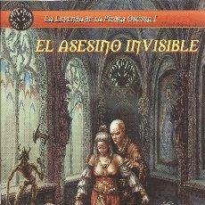 Juegos Antiguos: ROL: LA LEYENDA DE LA PIEDRA OSCURA - EL ASESINO INVISIBLE - A ESTRENAR. Lote 184516530