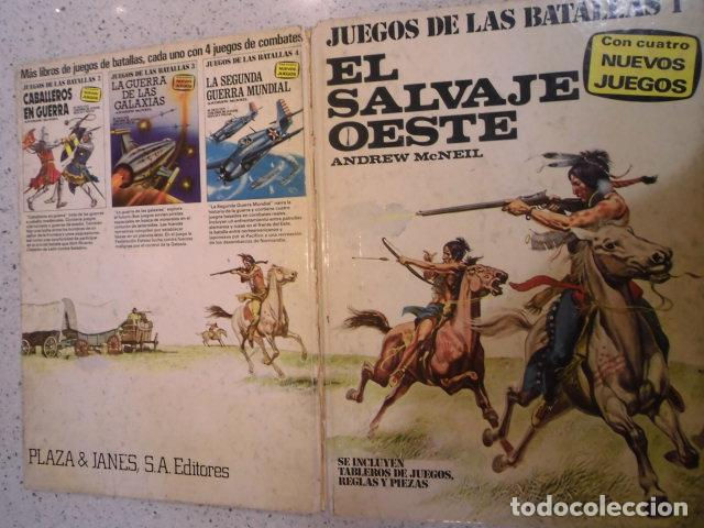 Juegos Antiguos: COLECCION JUEGOS DE LAS BATALLAS - NUM 1 - EL SALVAJE OESTE - NO JUGADO - Foto 2 - 209045968