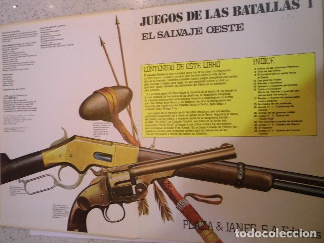 Juegos Antiguos: COLECCION JUEGOS DE LAS BATALLAS - NUM 1 - EL SALVAJE OESTE - NO JUGADO - Foto 3 - 209045968