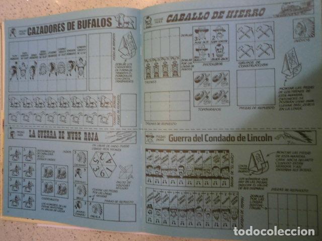Juegos Antiguos: COLECCION JUEGOS DE LAS BATALLAS - NUM 1 - EL SALVAJE OESTE - NO JUGADO - Foto 5 - 209045968
