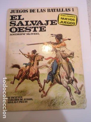 COLECCION JUEGOS DE LAS BATALLAS - NUM 1 - EL SALVAJE OESTE - NO JUGADO (Juguetes - Rol y Estrategia - Otros)
