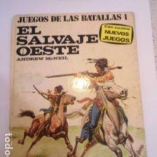 Juegos Antiguos: COLECCION JUEGOS DE LAS BATALLAS - NUM 1 - EL SALVAJE OESTE - NO JUGADO. Lote 209045968