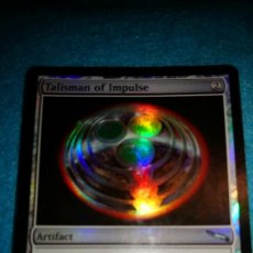 Juegos Antiguos: MAGIC THE GATHERING - MTG - TALISMAN DEL IMPULSO FOIL MIRRODIN. Lote 184880368
