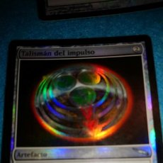 Juegos Antiguos: MAGIC THE GATHERING - MTG - TALISMAN DEL IMPULSO FOIL MIRRODIN. Lote 184880388