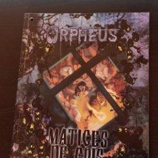 Juegos Antiguos: MATICES DE GRIS SUPLEMENTO DE ROL PARA ORPHEUS DE LA FACTORIA DE IDEAS. Lote 185121436