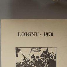 Juegos Antiguos: WARGAME LOIGNY 1870. ALEA. Lote 185711305