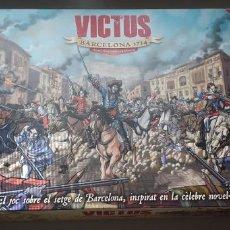 Juegos Antiguos: WARGAME VICTUS. BARCELONA 1714. Lote 185711443