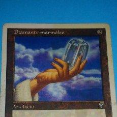 Juegos Antiguos: MAGIC THE GATHERING - MTG - DIAMANTE MARMÓLEO . Lote 186116615