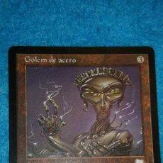 Juegos Antiguos: MAGIC THE GATHERING - MTG - GÓLEM DE ACERO . Lote 186363592