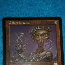 Juegos Antiguos: MAGIC THE GATHERING - MTG - GÓLEM DE ACERO . Lote 186363607