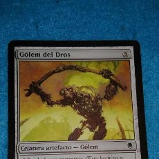 Juegos Antiguos: MAGIC THE GATHERING - MTG - GÓLEM DEL DROS . Lote 186363967