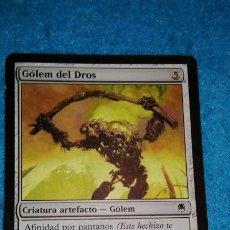 Juegos Antiguos: MAGIC THE GATHERING - MTG - GÓLEM DEL DROS . Lote 186363992