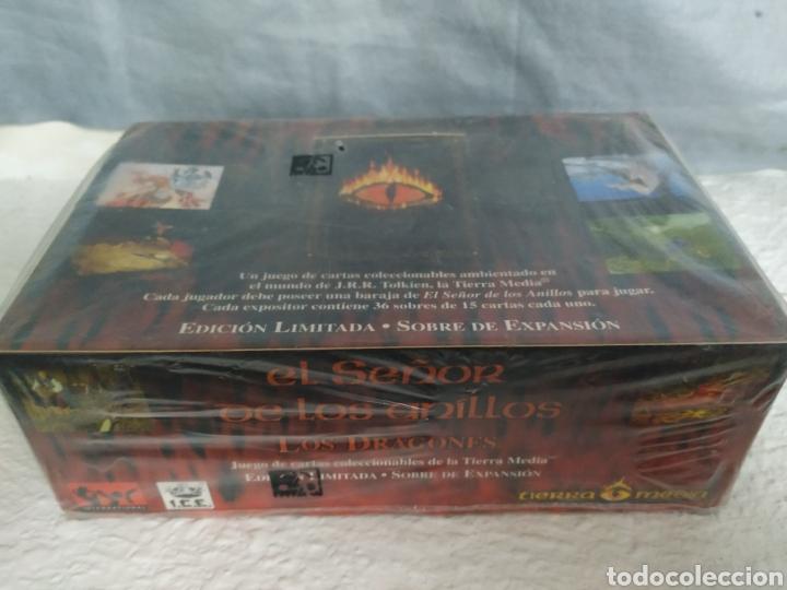 Juegos Antiguos: Caja con sobres señor de los anillos - Foto 2 - 187307652