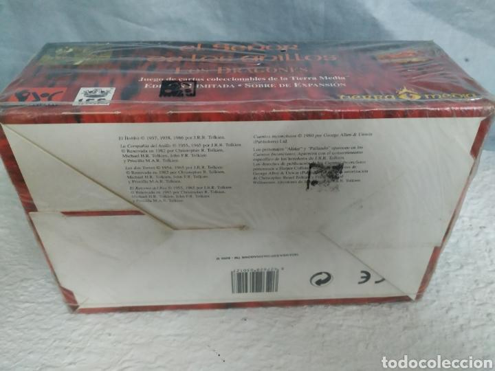 Juegos Antiguos: Caja con sobres señor de los anillos - Foto 3 - 187307652