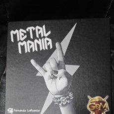 Juegos Antiguos: METAL MANIA ( CREA TU PROPIA BANDA CON LOS MEJORES MUSICOS DE LA HISTORIA Y CONQUISTA EL TRONO ). Lote 187413501