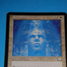 Juegos Antiguos: MAGIC THE GATHERING - MTG - SERENIDAD . Lote 187434933