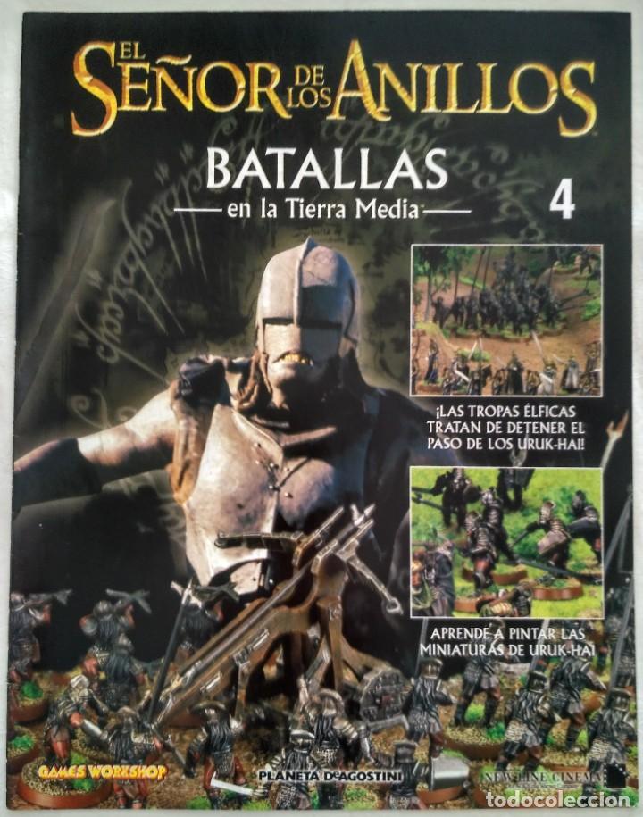 EL SEÑOR DE LOS ANILLOS: BATALLAS EN LA TIERRA MEDIA. Nº 4 (Juguetes - Rol y Estrategia - Juegos de Rol)