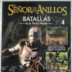 Juegos Antiguos: EL SEÑOR DE LOS ANILLOS: BATALLAS EN LA TIERRA MEDIA. Nº 4. Lote 187493211