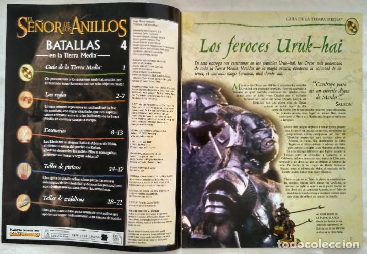 Juegos Antiguos: EL SEÑOR DE LOS ANILLOS: BATALLAS EN LA TIERRA MEDIA. Nº 4 - Foto 2 - 187493211