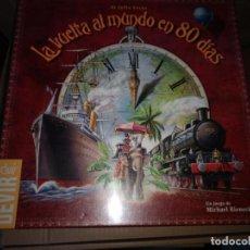 Juegos Antiguos: DEVIR LA VUELTA AL MUNDO EN 80 DIAS NUEVO PRECINTADO VER FOTOS. Lote 228149348
