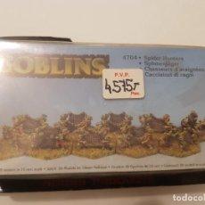 Juegos Antiguos: ROL HOBBY PRODUCTS METAL MAGIC GOBLINS SPIDER HUNTERS. Lote 187538120