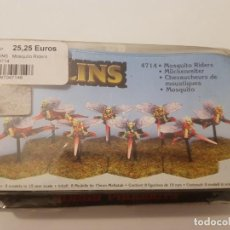 Juegos Antiguos: ROL HOBBY PRODUCTS METAL MAGIC GOBLINS MOSQUITO RIDERS. Lote 187539753