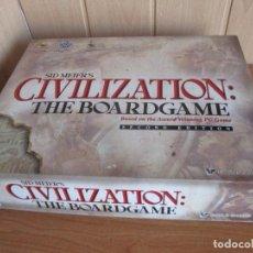Juegos Antiguos: JUEGO ESTRATEGIA SID MEIER´S CIVILIZATION: THE BOARD GAME (SECOND EDITION). Lote 187633225
