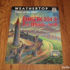 Juegos Antiguos: WEATHERTOP SEÑOR ANILLOS SDLA MERP ICE LIBRO JUEGO ROL JOC FACTORÍA 1987 8201 TOLKIEN CIMA VIENTOS. Lote 188787263