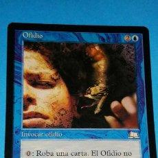 Juegos Antiguos: MAGIC THE GATHERING - MTG - OFIDIO . Lote 188842401