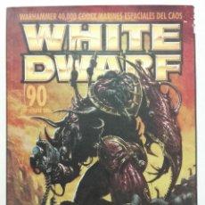 Juegos Antiguos: REVISTA WHITE DWARF NÚMERO 90. Lote 189085347