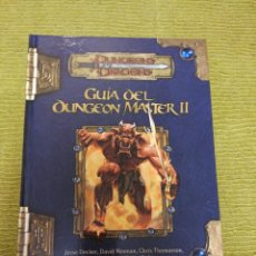 Juegos Antiguos: DUNGEONS & DRAGONS GUIA DEL DUNGEON MASTER II (DEVIR DD1038) - TAPA DURA. Lote 189515296