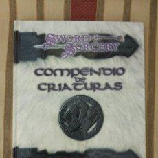 Juegos Antiguos: DUNGEONS & DRAGONS TIERRAS HERIDAS COMPENDIO DE CRIATURAS (LA FACTORIA DE IDEAS LFDD101) - TAPA DURA. Lote 189678216