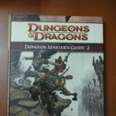 Juegos Antiguos: DUNGEONS & DRAGONS 4.0 DUNGEON MASTER'S GUIDE 2 (WIZARDS OF THE COAST) - TAPA DURA. Lote 189681152