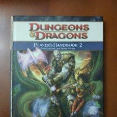 Juegos Antiguos: DUNGEONS & DRAGONS 4.0 PLAYER'S HANDBOOK 2 (WIZARDS OF THE COAST) - TAPA DURA. Lote 189681878