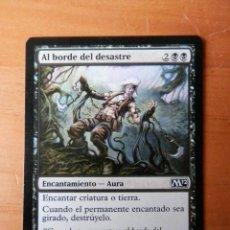 Juegos Antiguos: CARTA MAGIC AL BORDE DEL DESASTRE. ENCANTAMIENTO-AURA - ALEX HORLEY-ORLANDELLI. Lote 37047713