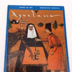 Jeux Anciens: AQUELARRE - JOC INTERNACIONAL - 1ª PRIMERA EDICIÓN. Lote 189812633