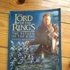 Juegos Antiguos: THE LORD OF THE RINGS THE RETURN OF THE KING - STRATEGY BATTLE GAME D30. Lote 190510833