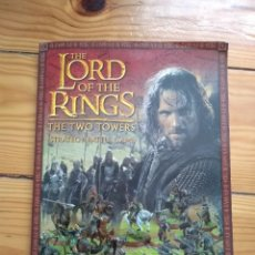 Juegos Antiguos: THE LORD OF THE RINGS THE TWO TOWERS - STRATEGY BATTLE GAME D30. Lote 190510902