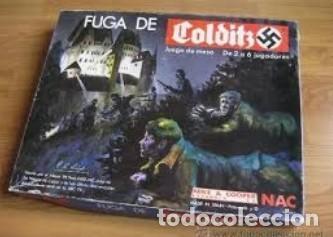 JUEGO COMPLETO FUGA DE COLDITZ, ORIGINAL NAC (Juguetes - Rol y Estrategia - Otros)