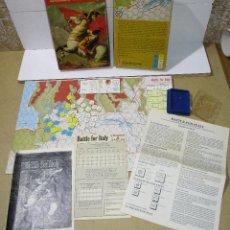 Juegos Antiguos: JUEGO DE MESA WARGAME ESTRATEGIA, BATTLE FOR ITALY, AVALON HILL 1983, INSTRUCCIONES EN CASTELLANO. Lote 190778620