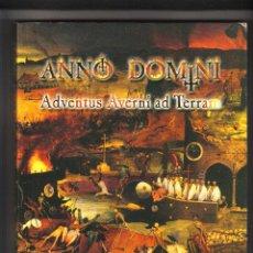 Giochi Antichi: ANNO DOMINI ADVENTUS AVERNI AD TERRAM LIBRO JUEGO DE ROL LIBROS UCRONIA 2000. Lote 191456991