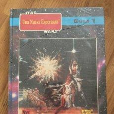 Jeux Anciens: STAR WARS , UNA NUEVA ESPERANZA , GUIA 1 - WEST END GAMES - TAPA DURA - NUEVO/ PRECINTADO - GCH1. Lote 191685821