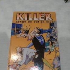Juegos Antiguos: KILLER EL JUEGO DE ROL EN VIVO. Lote 191687933