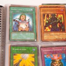 Juegos Antiguos: LOTE DE CARTAS YU-GI-OH! - 112 CARTAS. Lote 191890257