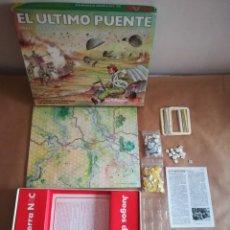 Juegos Antiguos: JUEGO NAC EL ÚLTIMO PUENTE - COMPLETO. Lote 192285268