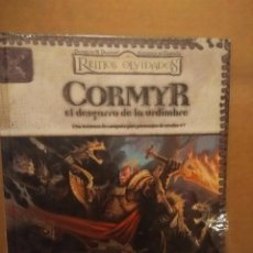 Juegos Antiguos: LIBRO CORMYR : EL DESGARRO DE LA URDIMBRE ( REINOS OLVIDADOS / DUNGEONS & DRAGONS ). Lote 192289218